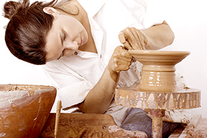 image of Pottery artist