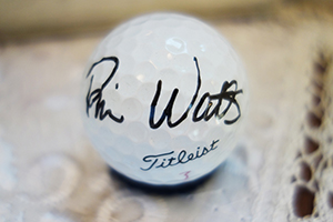 image of Brian Watts Autograph